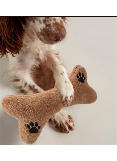Sole Çıngıraklı Peluş Kemik Köpek Oyuncağı (2 ADET)- 30 cm Renkli